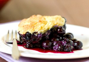 Blue Ribbon Blueberry Cobbler