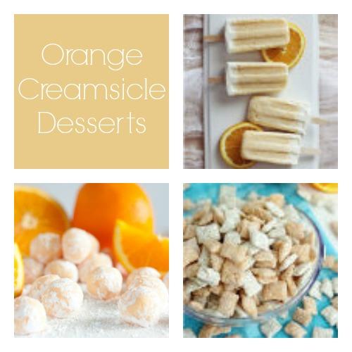 Orange Creamsicle Desserts