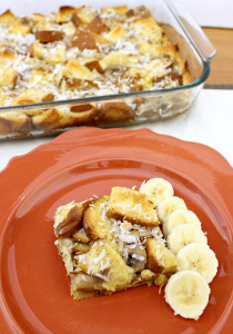 Hawaiian Overnight French Toast Casserole