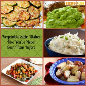 Vegetable Side Dishes Like You've Never Seen Them Before