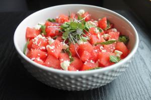 10-Minute-Watermelon-Salad