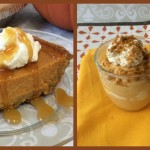 Pumpkin Pie and Pumpkin Mousse