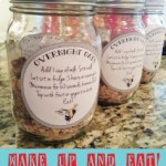 Overnight Oatmeal in Mason Jars