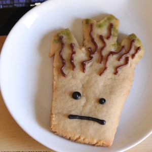 Guardians of the Galaxy Groot Cookies