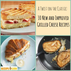 A Twist on the Classic: 10 New and Improved Grilled Cheese Recipes