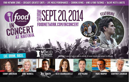Food Network in Concert
