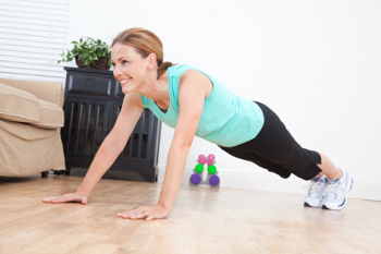 Work Out In Your Living Room