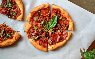 Pizza Hut Inspired Crust