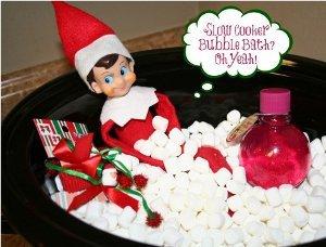 Elf on the Shelf Slow Cooker Bubble Bath