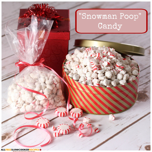 How to Make Snowman Poop