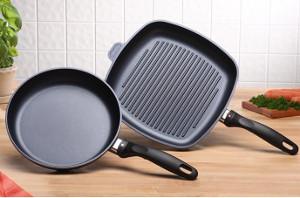 Swiss Diamond 2-Piece Fry Pan and Grill Pan Set Giveaway