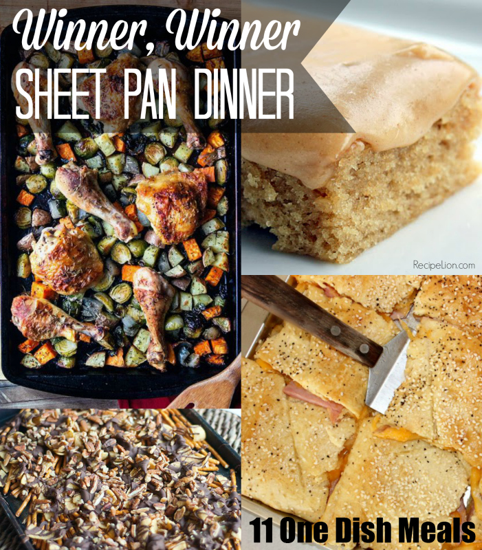 Winner Winner Sheet Pan Dinner: 11 One Dish Meals