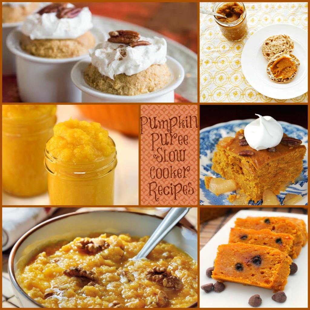 pumpkin puree slow cooker recipes