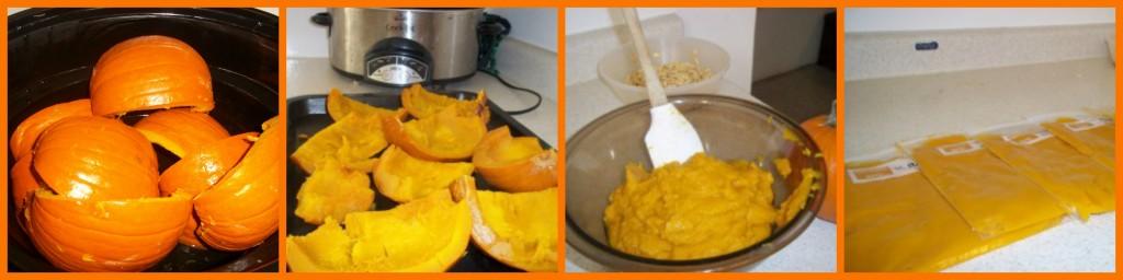 Step by Step Pumpkin Puree