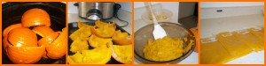 Step by Step Pumpkin Puree