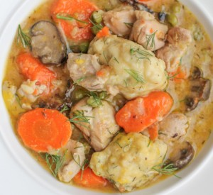 Sunday Supper Chicken and Dumplings