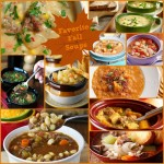 favorite fall soups collage