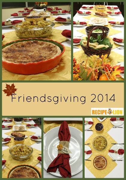 Thanksgiving Dinner Menu: Easy Thanksgiving Recipes
