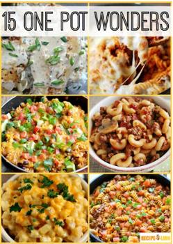 15 One Pot Recipes