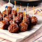 Our Version of Slow Cooker Party Meatballs