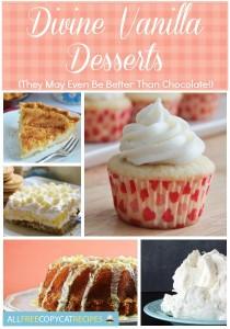 Divine Vanilla Desserts