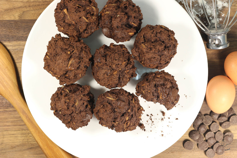 Heavenly Chocolate Muffins