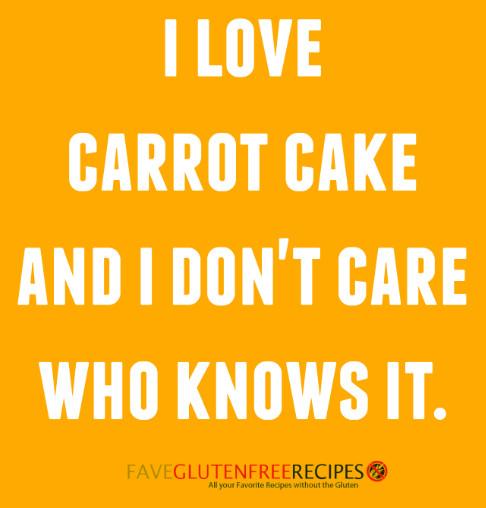 I Love Carrot Cake