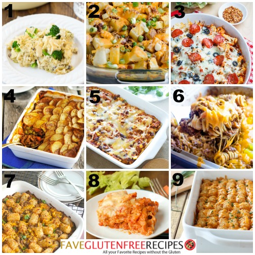 Gluten Free Casserole Recipes