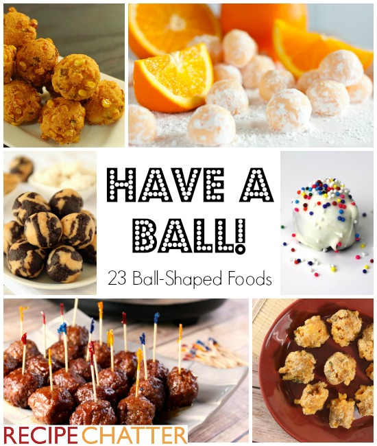 Ball-Shaped Foods