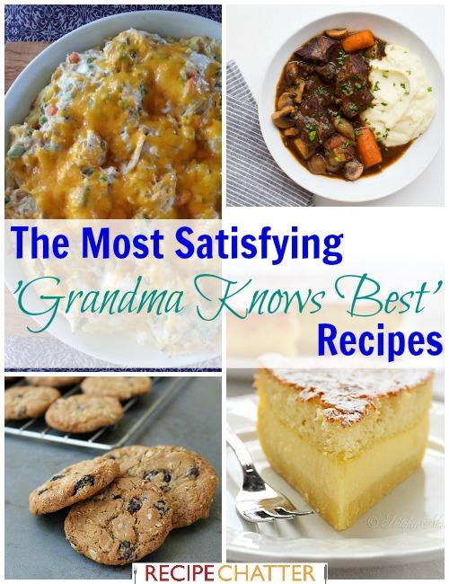'Grandma Knows Best' Recipes