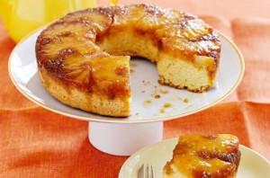 Guilt-Free Pineapple Upside Down Cake