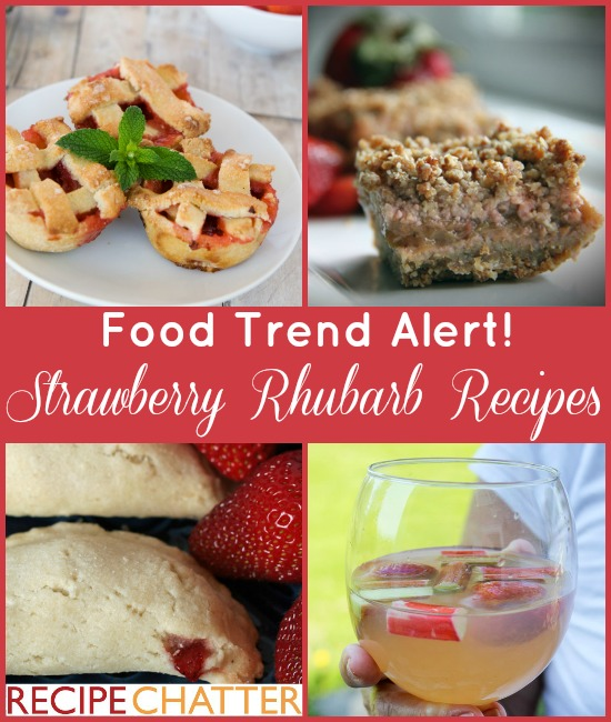 Strawberry Rhubarb Recipes