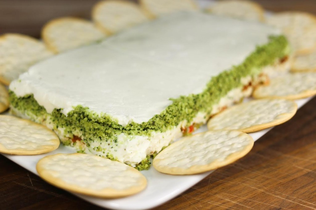 12-Days-Pesto-Goat-Cheese-Torte