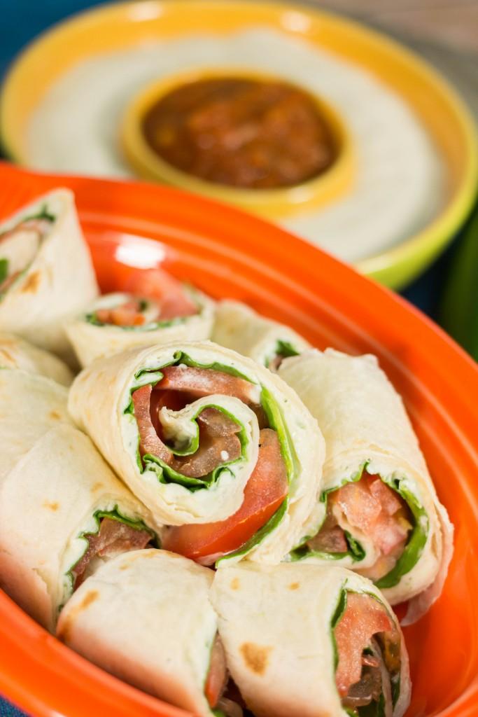 Party Tortilla Pinwheels Appetizer Recipe More Finger