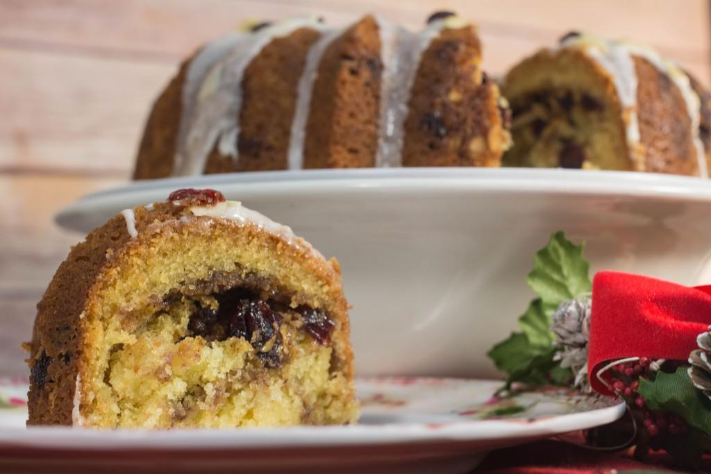 Sour Cream Streusel Bundt Cake