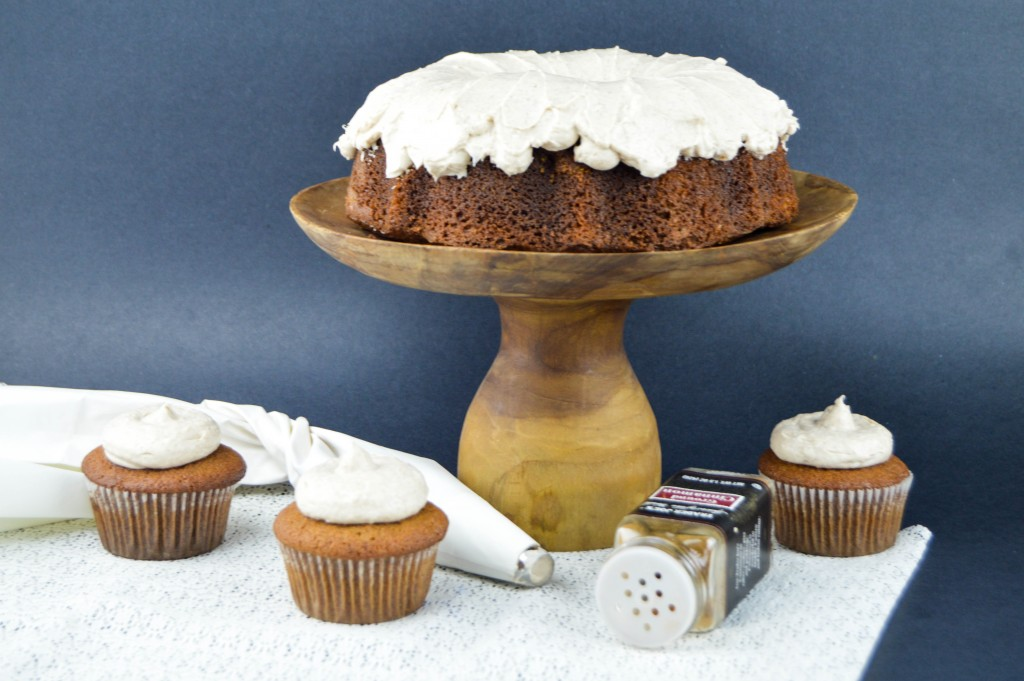 Gingerbread Bundt Cake with Cinnamon Cream Cheese Frosting   www.revamperate.com