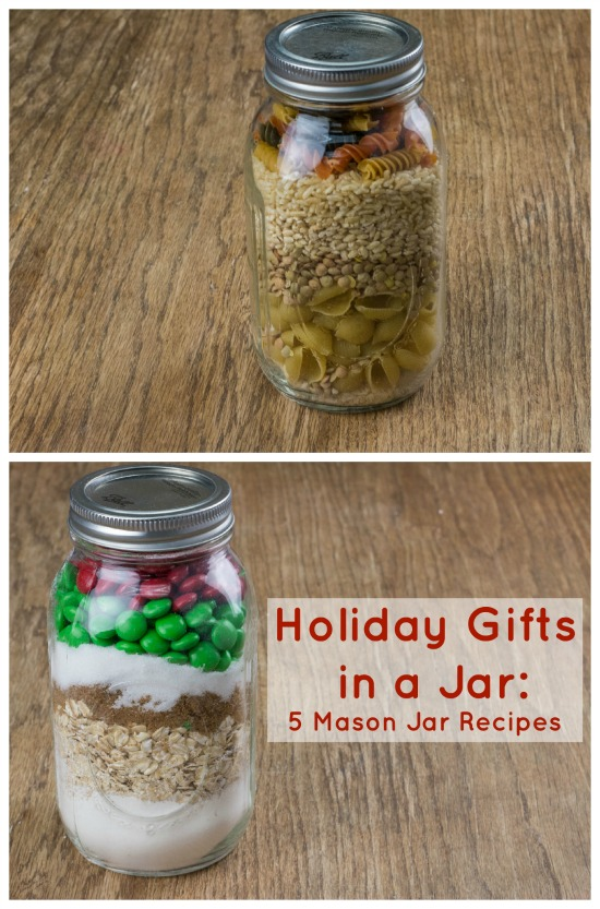 Holiday Gifts in a Jar: 5 Mason Jar Recipes - RecipeChatter