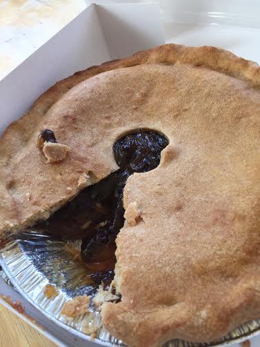 Amish Raisin Pie