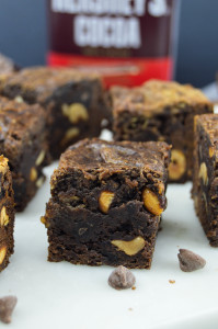 Slow Cooker Peanut Butter Chocolate Brownies
