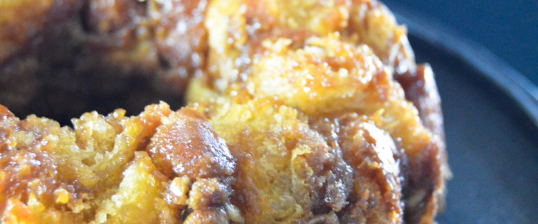 Crescent Roll Monkey Bread with Pecans