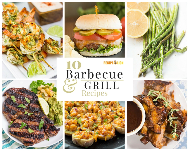10 BBQ and Grill Recipes Blog Post RL