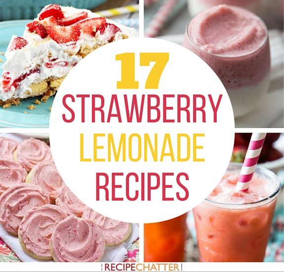 17 Strawberry Lemonade Recipes