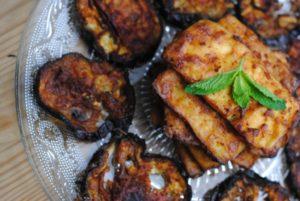 Miso-Glazed Tofu and Eggplant