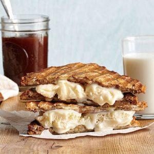 Grilled Ice Cream Sandwiches