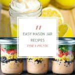 11 Easy Mason Jar Recipes for Picnic