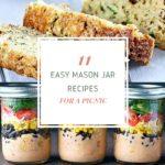 Easy Mason Jar Recipes for a Picnic