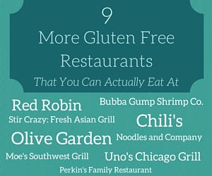 9 More Gluten Free Restaurants