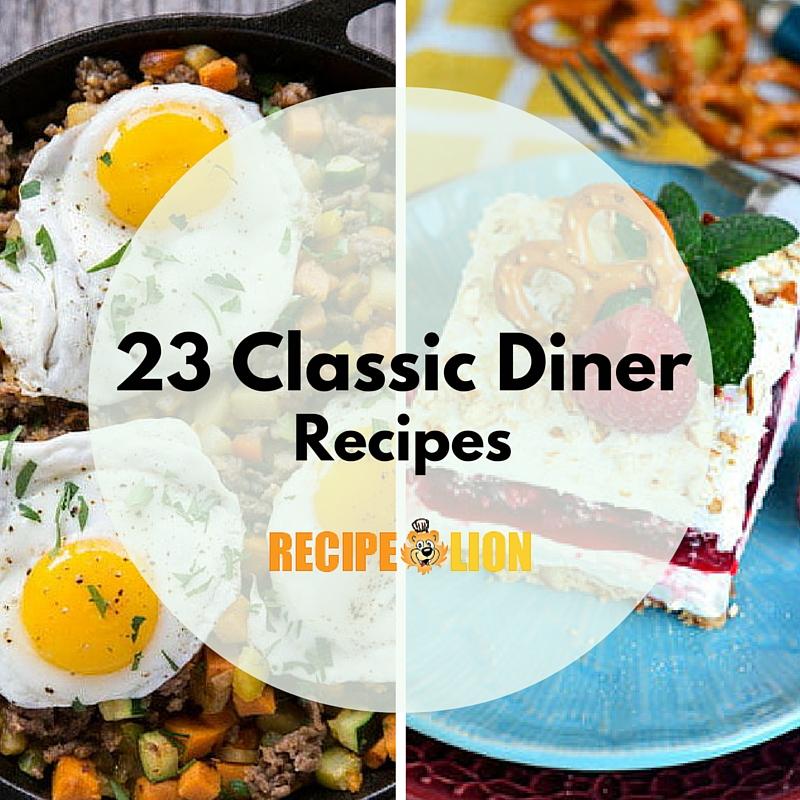 23 Classic Diner Recipes