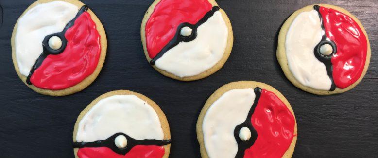 Pokémon Go Inspired Cookies Recipe