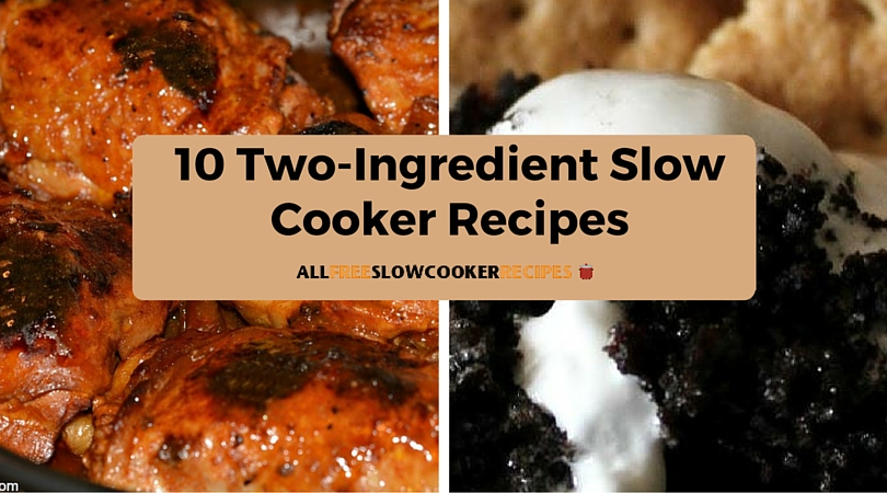 10-Two Ingredient Slow Cooker Recipes FI